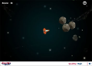 Asteroids: The war in space