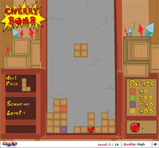 Cherry Bomb: Tetris with a difference