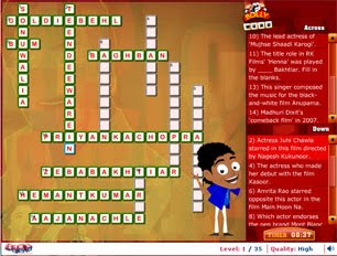 Bolly Word: A fun Bollywood crossword
