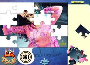 Bolly Puzzle: A jigsaw with a difference
