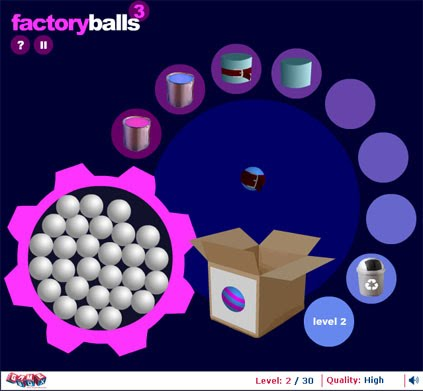 Factory Balls: A fun time with colours and tools!